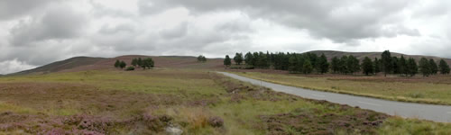 Panoramique des Highlands